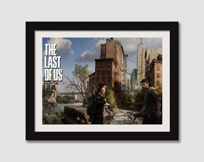 Quadro 45x35cm Games The Last Of Us Tlou
