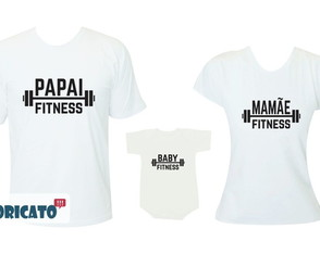 Pai Fitness / Mãe Fitness / Baby Fitness