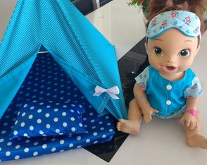Kit festa do pijama para Baby Alive
