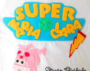 "Camiseta personalizada ""Super Wings"""