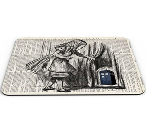 Mouse Pad Doctor Who Alice