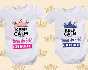 Body Personalizado - Keep Calm