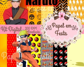 KIT DIGITAL NARUTO