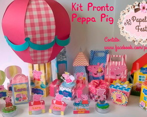 Kit Pronto Peppa Pig