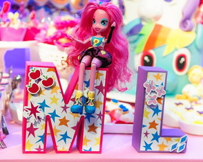 Equestria Girls/Pony - Letras 3D