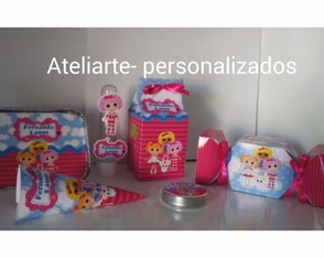 Kit 90 itens personalizados