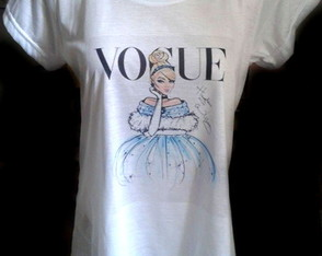 T-shirt Cinderela Vogue