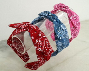 Kit Trio Tiaras Bandanas Largas