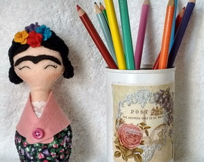 Boneca Frida Pocket