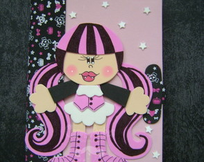 Caderno decorado Monster High