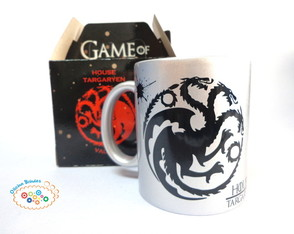 Caneca Game Of Thrones Prata Targaryen
