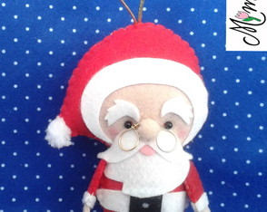 Papai Noel pocket natal - ref. 549