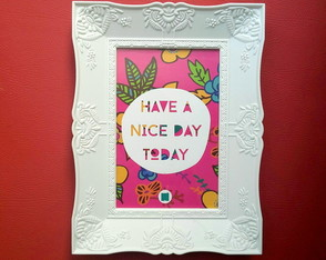 "Quadro Decor ""Nice day"""