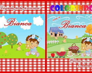 Kit de colorir Pic Nic
