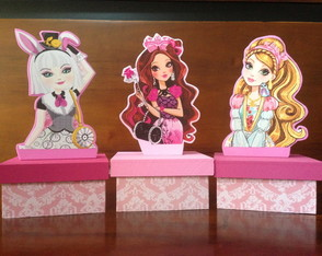 Ever After High - Centro de Mesa