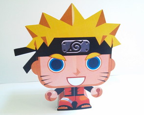 Paper Toy 3D Naruto