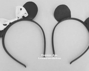 TIARA ORELHAS MINNIE / MICKEY