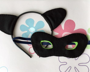 Kit Artesanal Miraculous Catnoir