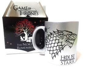 Caneca Game Of Thrones Prata Stark