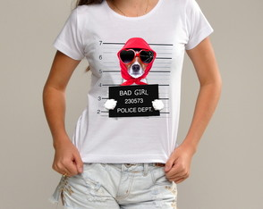 T shirt Bad Girl