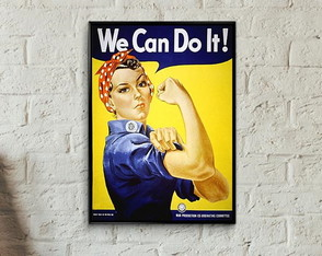 Quadro pin up We can!