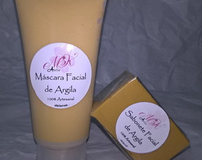 Kit Argila: Máscara + Sabonete Facial