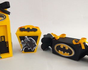 Kit Personalizados Batman