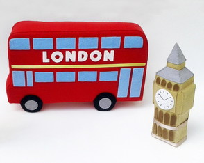 Kit Ônibus de Londres e Big Bang