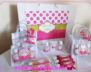Lembrancinha Kit festa spa party