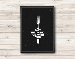 Pôster May the Fork be With You