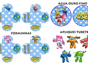 KIT FESTA SUPER WINGS
