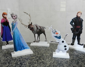 Kit Display de Mesa Frozen