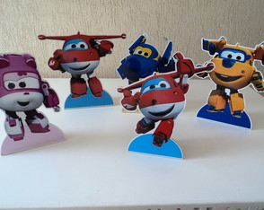 KIT TOTEM DE MESA SUPER WINGS