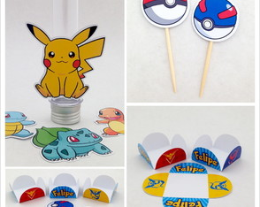 Kit festa Pokemon
