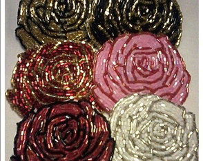 PATCHES DE ROSAS VIDRILHOS) 7X7