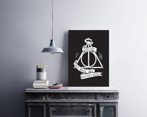 "Placa decorativa ""Harry Potter Together"""