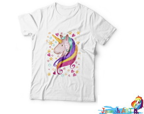 Camiseta Love Unicorn