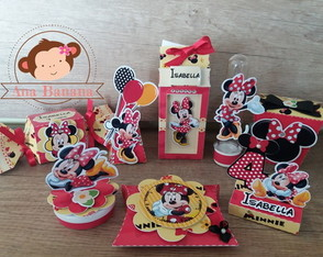 kit festa Minnie - vermelha