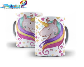 Caneca Love Unicorn