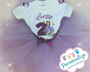 Kit Tutu Princesa Sofia