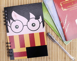 Caderno Harry Potter - Carinhas - Harry