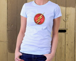 Camiseta Feminina The Flash - Nova Série