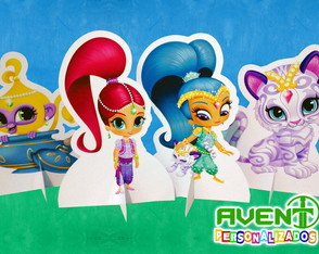 Display de Mesa Shimmer e Shine