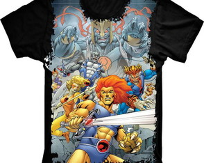 Camiseta Thundercats Retro