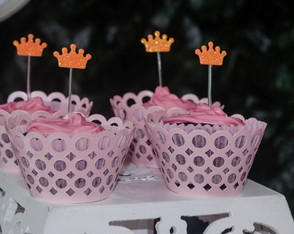 Wrappers Cupcake Rosa