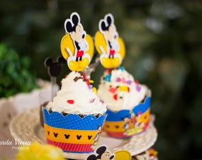 Wrappers Cupcake Mickey