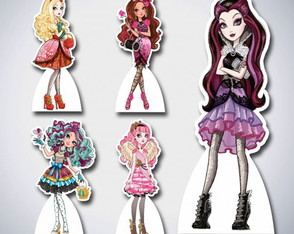 Kit Display MDF Ever After High