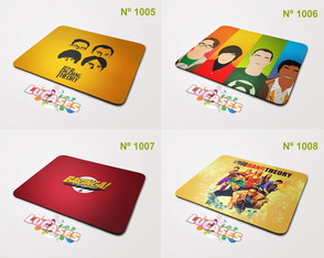 Mouse Pad The Big Bang Theory Bazinga!