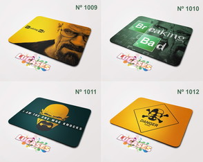 Mouse Pad Breaking Bad Heisenberg Danger