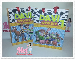 Sacola Personalizada: Toy Story